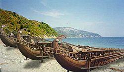 колонизация греками, межводное