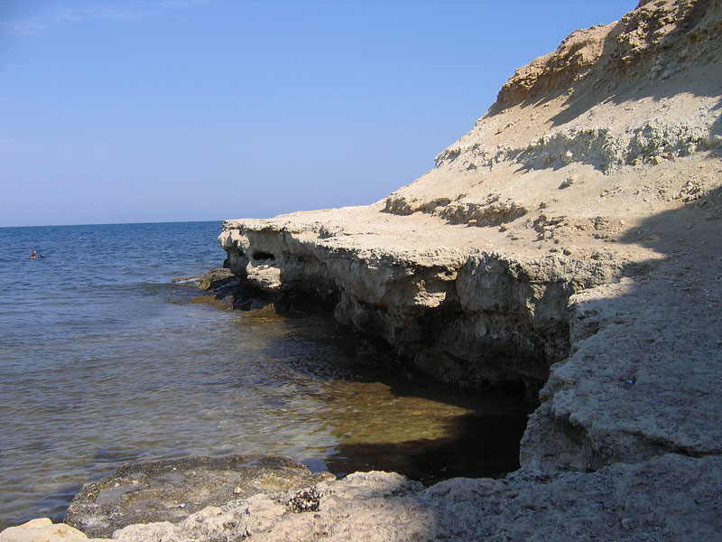 Скалы в Межводном