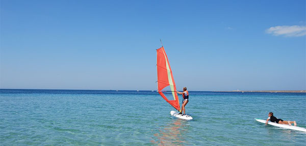 windserfing Mejvodnoe