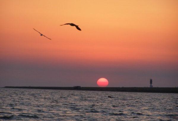 Закат в Межводном