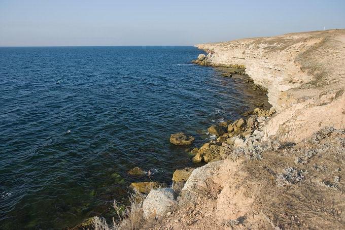Отмели и скалы, западный Крым