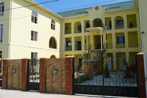 Гостиница Ликко-Голд в Межводном