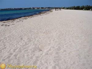 Межводное, пляж 2012