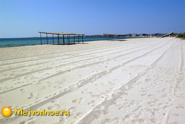 Чистые пляжи в Межводном