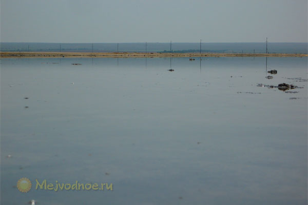 Запасы солей и илов озера Джарылгач