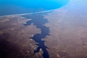 Озеро Донузлав с высоты