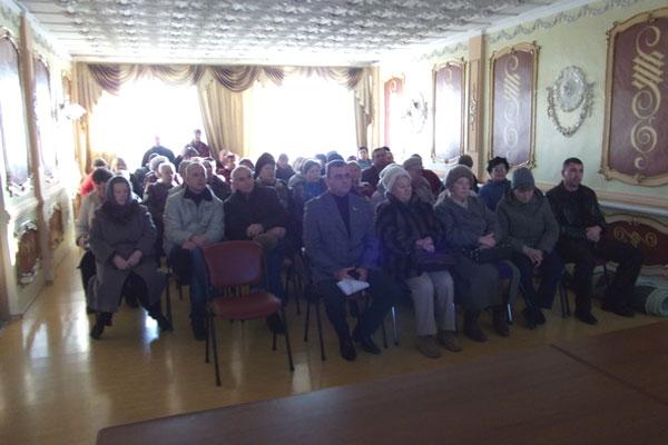 В Межводном определили приоритеты для села в бюджете на 2012 год