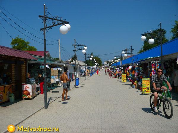 Улица Приморская в Межводном