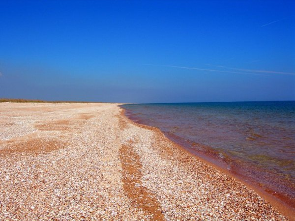 Пляжи у села Портовое