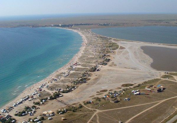 Пляжи северо-западного Крыма