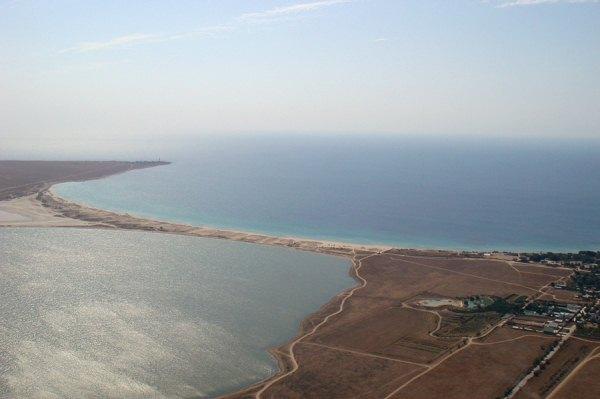 На дне минеральных озер Тарханкута