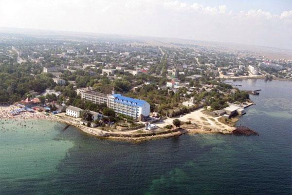 Поселок Черноморское, история