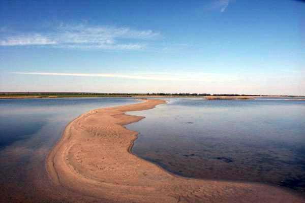 Озеро Донузлав, тарханкутский полуостров