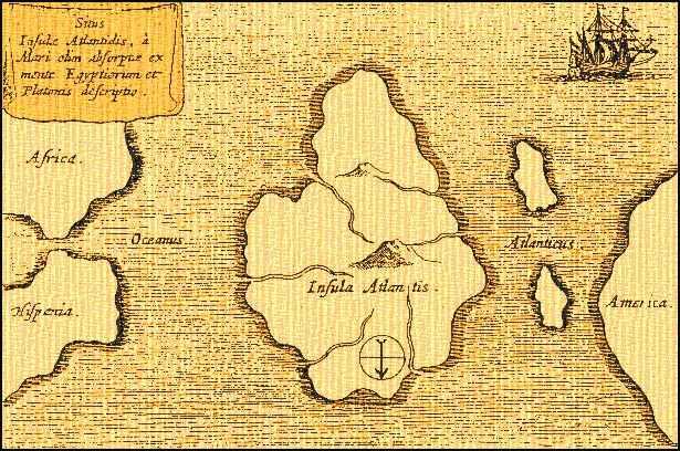 Загадочный остров Атлантида