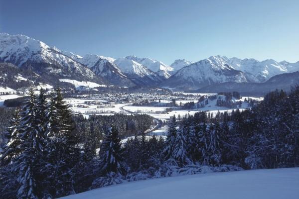 Оберстдорф — горнолыжный курорт в Германии